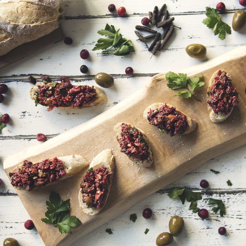 Cranberry Tapenade