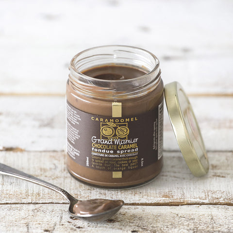 Grand Marnier Chocolate Caramel Spread
