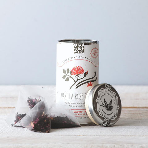 Vanilla Rose Ceylon Tea