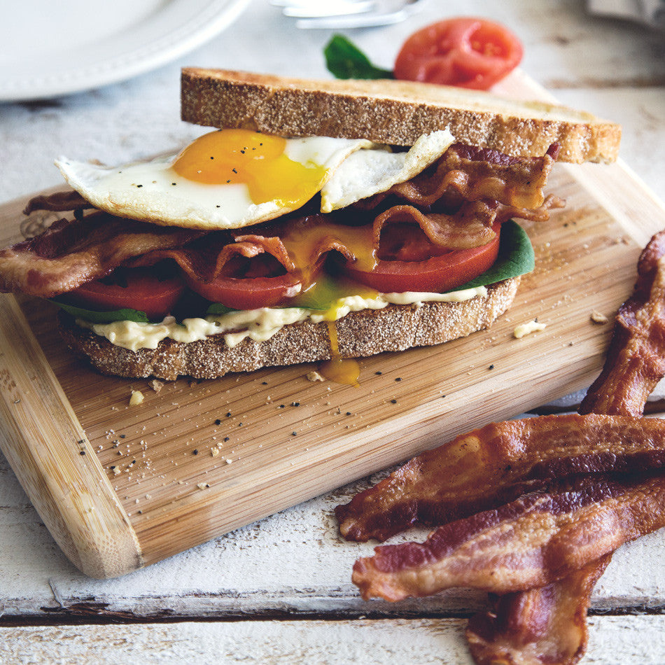 Fried Egg BLT with Bacon Mayo