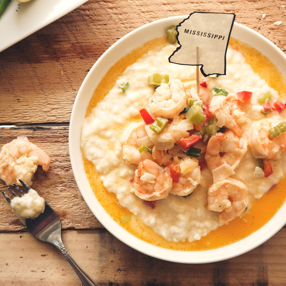 Shrimp and Rice Grits
