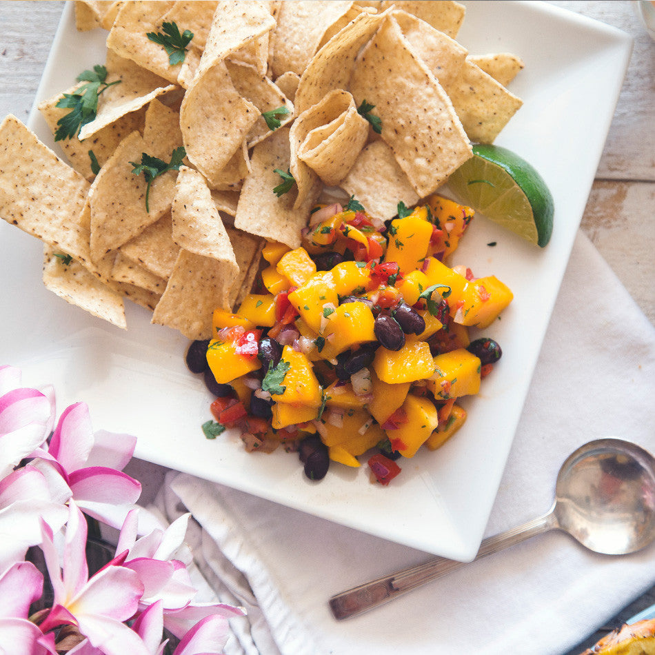 Fresh Mango Balsamic Salsa