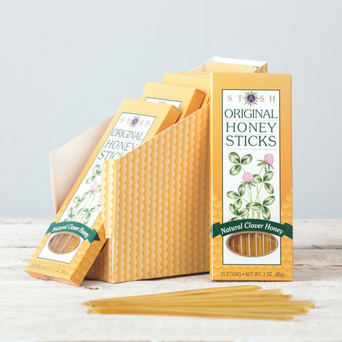Natural Clover Honey Sticks