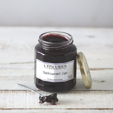 Blackcurrant and Burgundy Jam