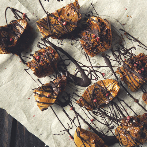Chocolate Drizzled Sponge Toffee