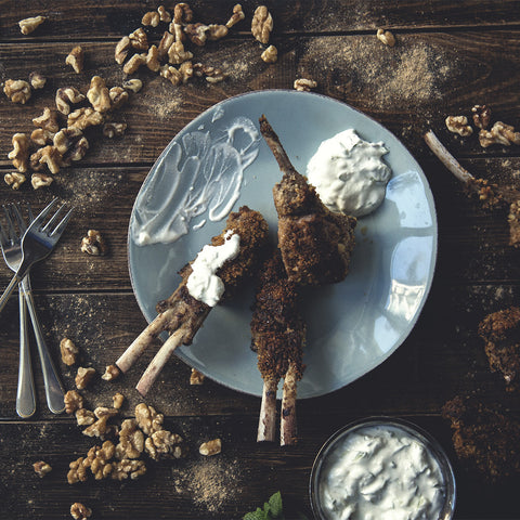 Chaat Masala Breaded Lamb Lollipops