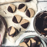 Brown Sugar Espresso Shortbread