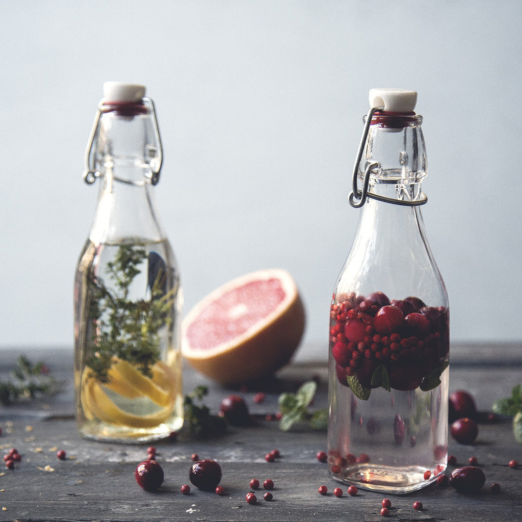 Grapefruit Herb Infused Vodka
