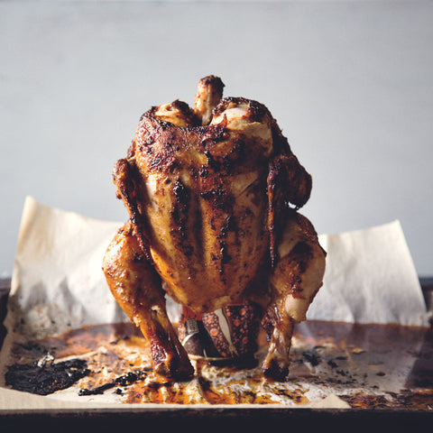 Root Beer Can Chicken