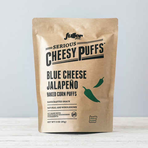 Blue Cheese Jalapeno Puffs