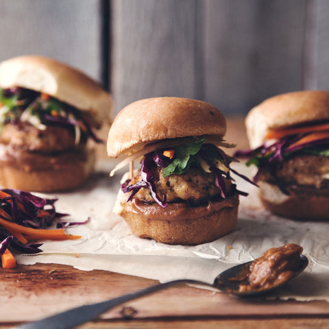 Thai Basil Turkey Sliders