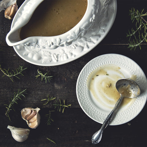 Turkey Rosemary Gravy