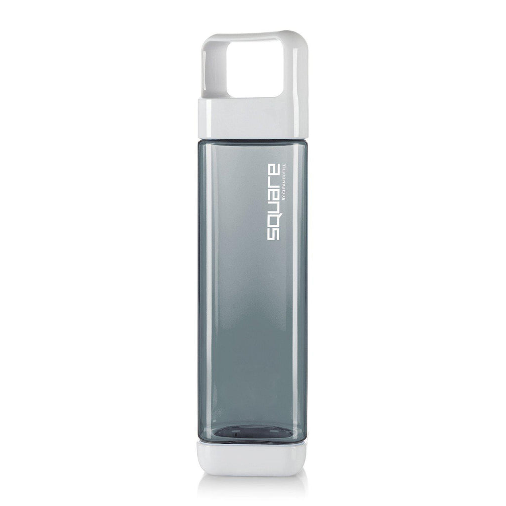 The Square-Tritan Square-Clean Bottle-Charcoal-BPA -free-Water Bottle-Clean Bottle