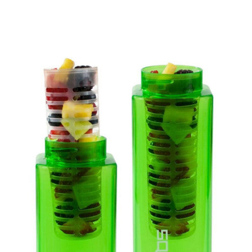Fruit Infuser-Tritan Square-Clean Bottle-BPA -free-Water Bottle-Clean Bottle
