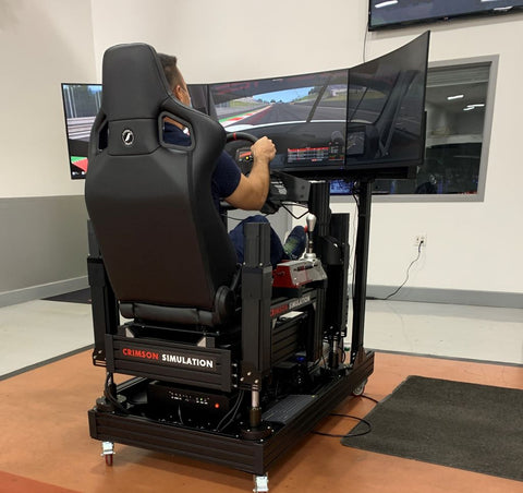 DEMO: 4-Way Advanced Motion Simulator, GT Style
