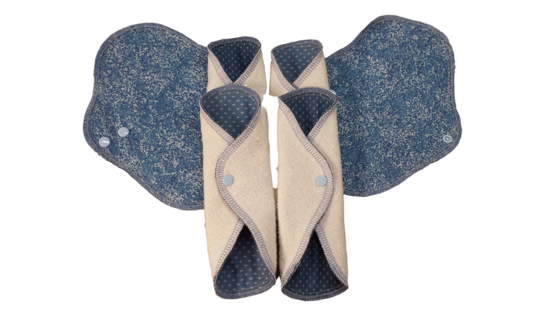 Custom Order Wrap Pantyliners - Buy 5, Get One Free - You Pick Backing Fabric-Mom and Me Creations