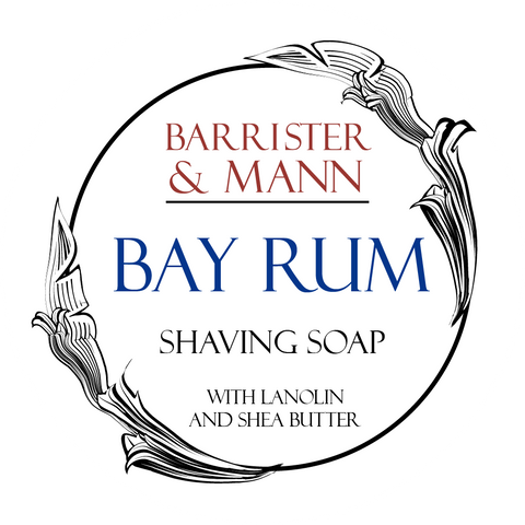 Barrister and Mann Tallow Shave Soap - Bay Rum