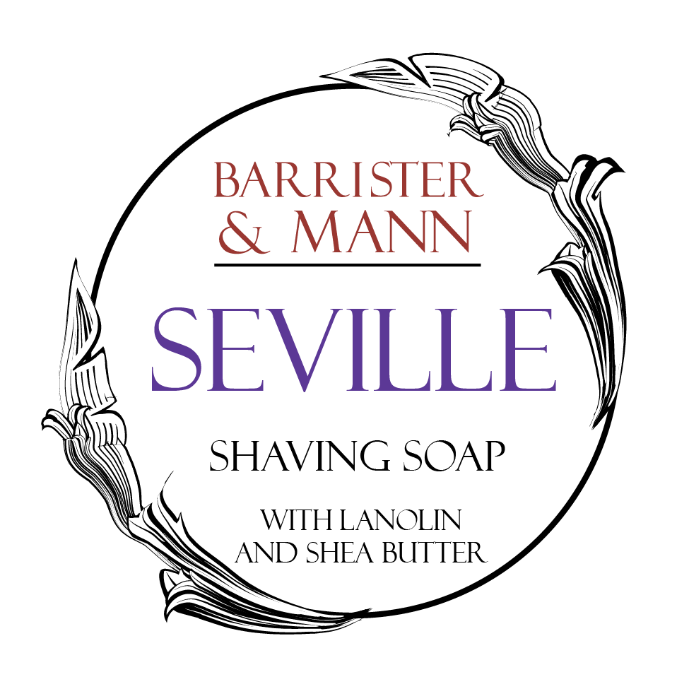Barrister and Mann Tallow Shave Soap - Seville