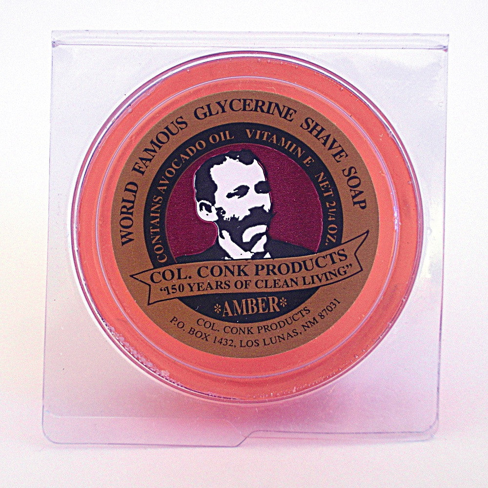 Colonel Conk Amber Shaving Soap