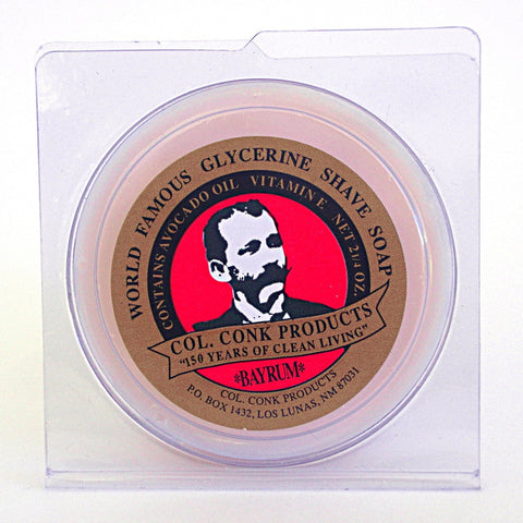 Colonel Conk Bay Rum Shaving Soap