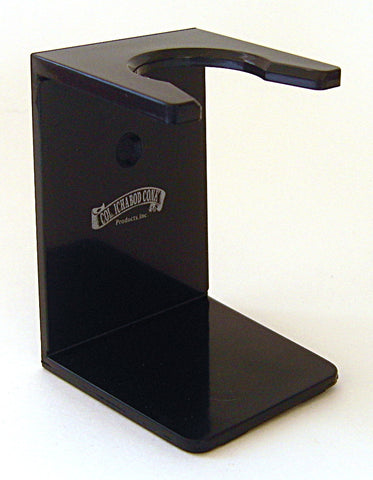 Colonel Conk Black Shaving Brush Stand