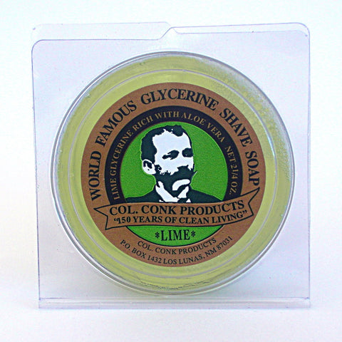 Colonel Conk Lime Shaving Soap