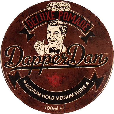 Dapper Dan Deluxe Pomade - Medium Hold/Medium Shine