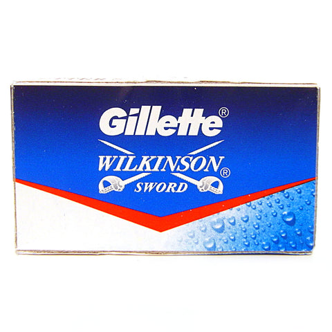 Gillette Wilkinson Sword Double Edge Razor Blades - Pack of 5