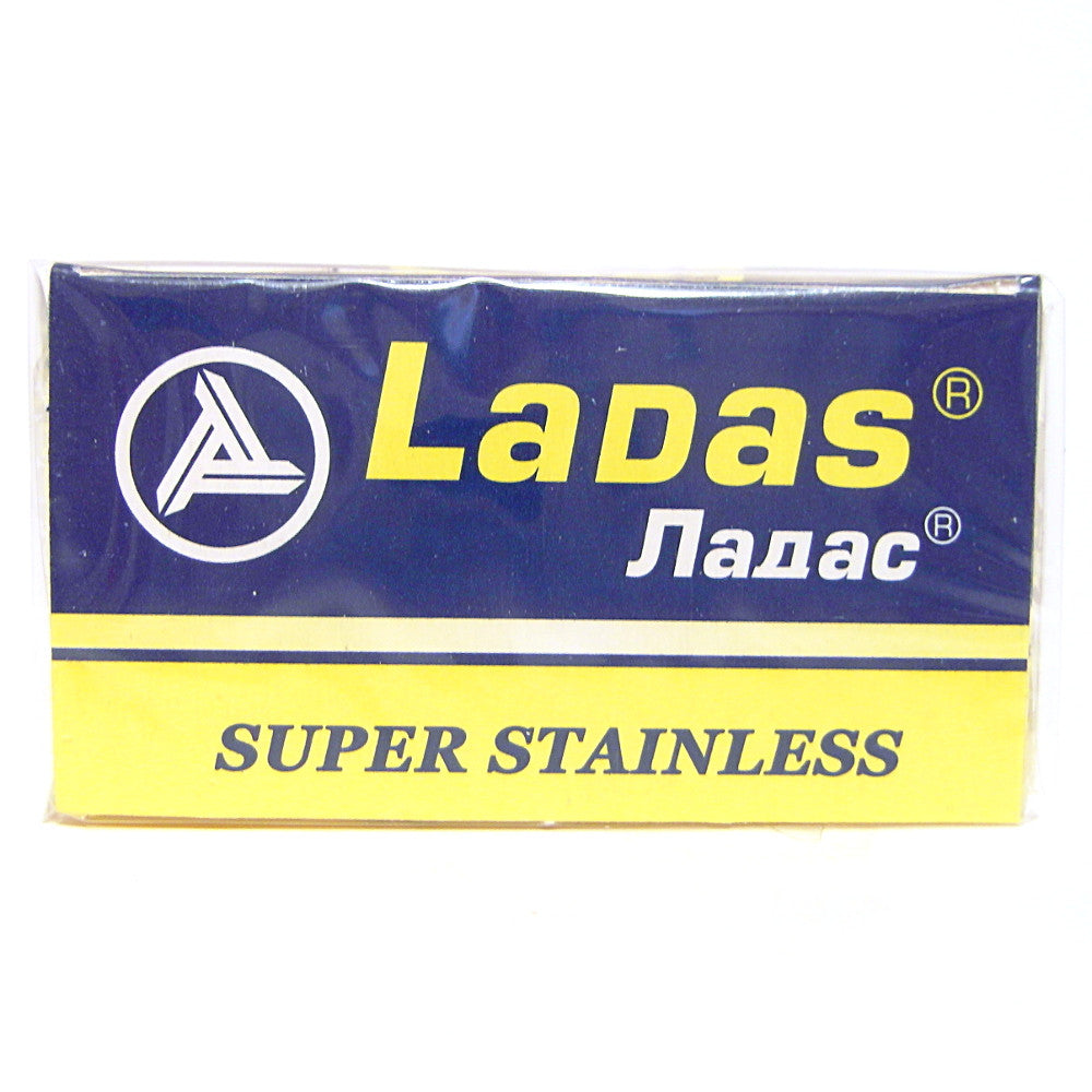 Ladas Super Stainless Double Edge Razor Blades - Pack of 5