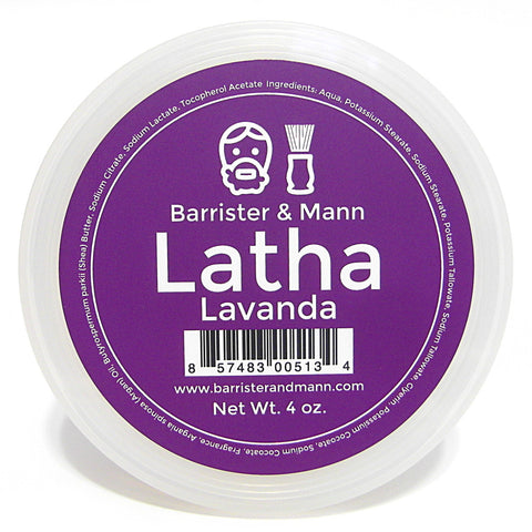 Barrister and Mann Latha Shave Soap - Lavanda