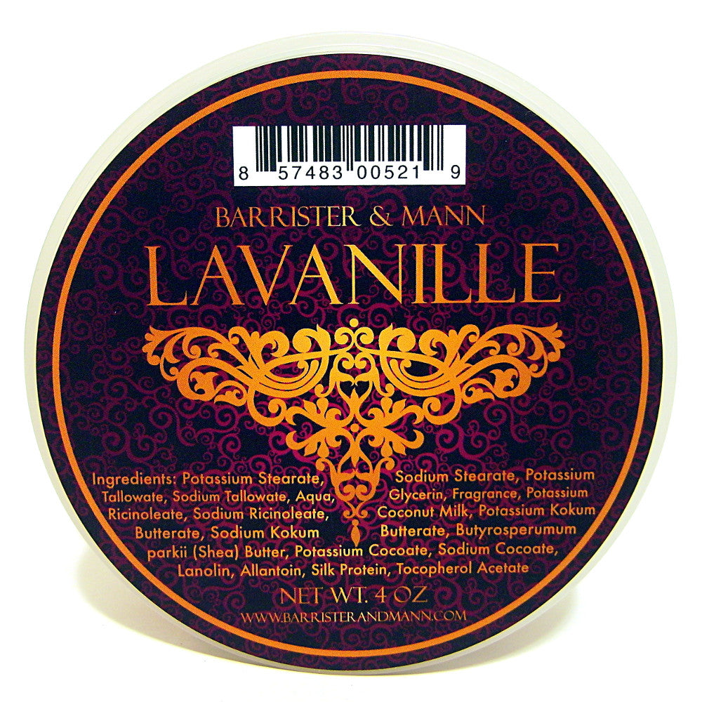 Barrister and Mann Tallow Shave Soap - Lavanille