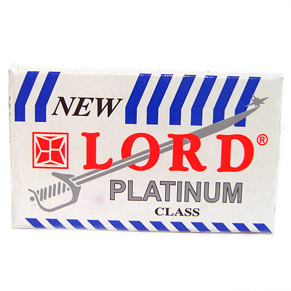 Lord Platinum Double Edge Razor Blades - Pack of 5