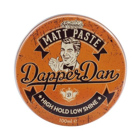 Dapper Dan Matt Paste Pomade - High Hold/Low Shine