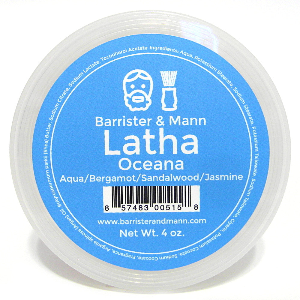 Barrister and Mann Latha Shave Soap - Oceana