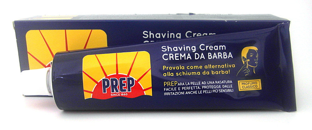 Prep Shaving Cream Tube