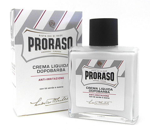 Proraso White Aftershave Balm - Green Tea and Oat