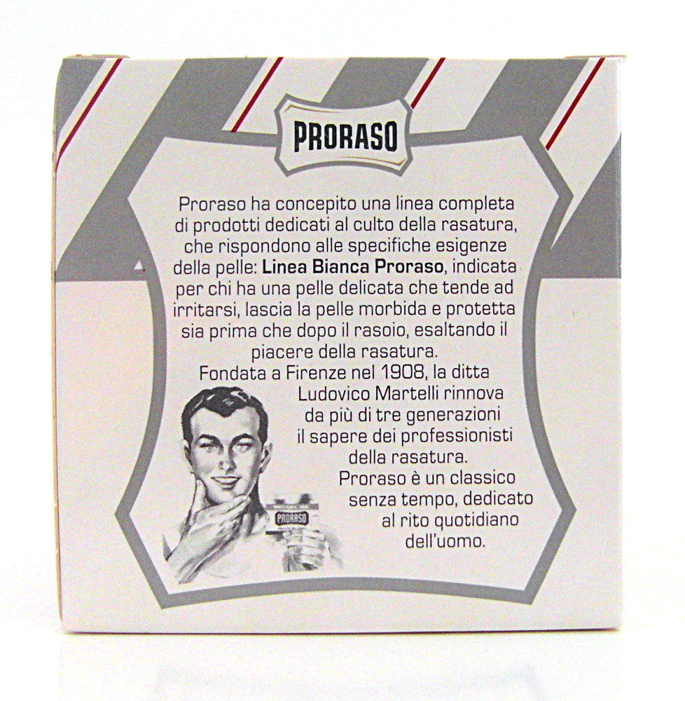Proraso Pre and Post Shave Cream - White