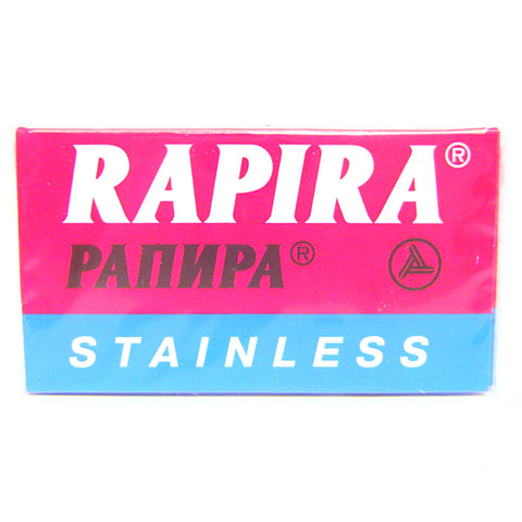 Rapira Stainless Double Edge Razor Blades - Pack of 5