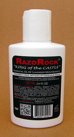 RazoRock Aftershave Balm - Essential Oil of Lavender