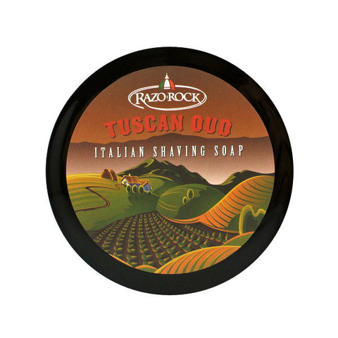 Razorock Tuscan Oud Shave Soap