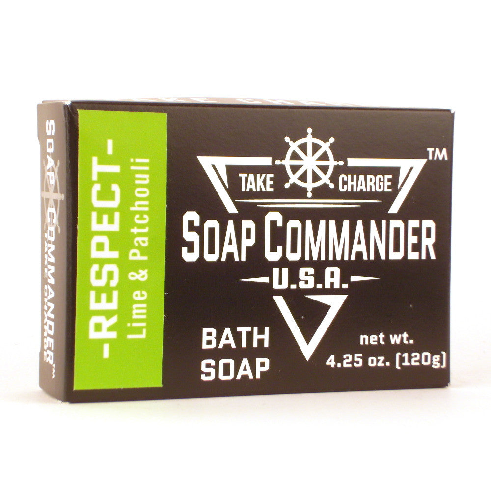Soap Commander Bath Soap - Respect