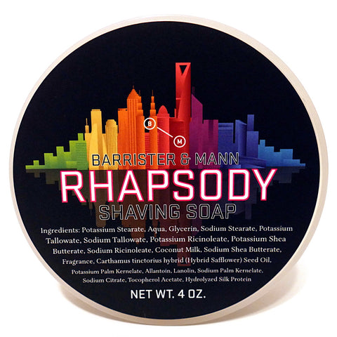 Barrister and Mann Tallow Shave Soap - Rhapsody
