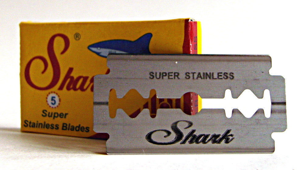 Shark Super Stainless Double Edge Razor Blades - Pack of 5