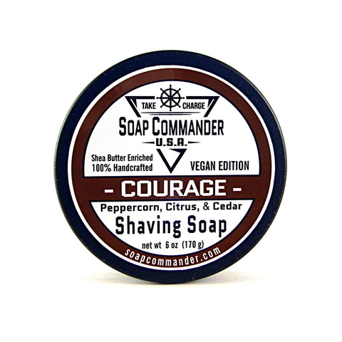 Soap Commander Shave Soap - Courage