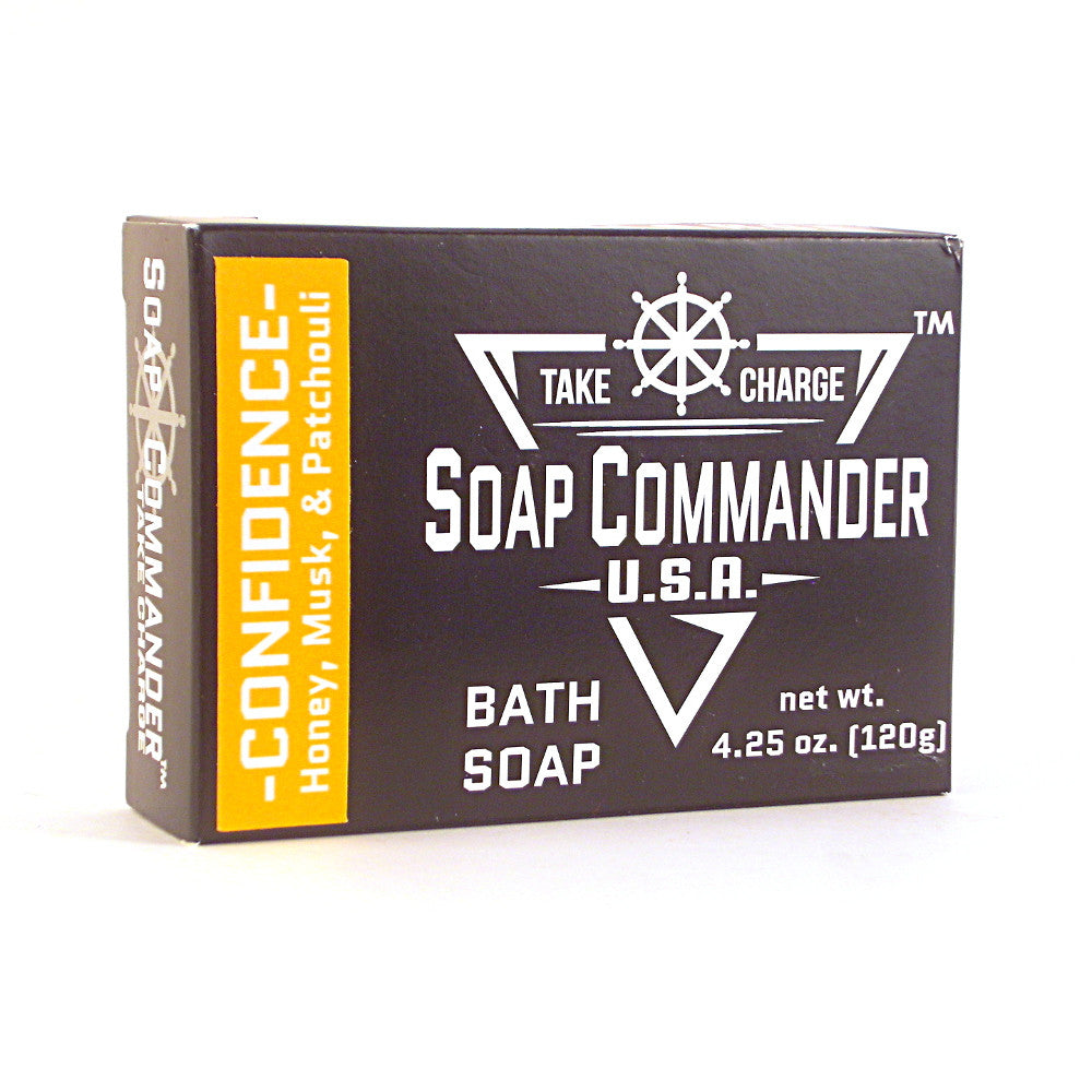 Soap Commander Bath Soap - Confidence