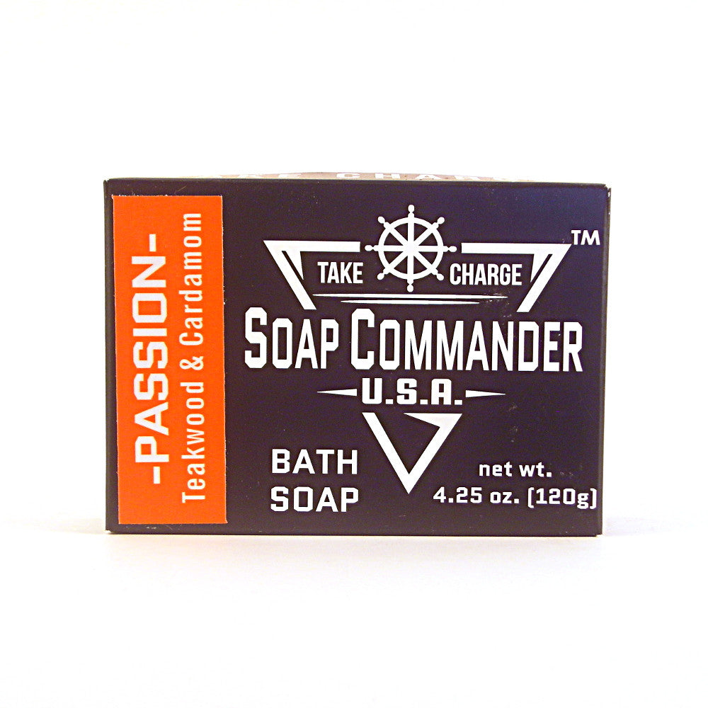 Soap Commander Bath Soap - Passion