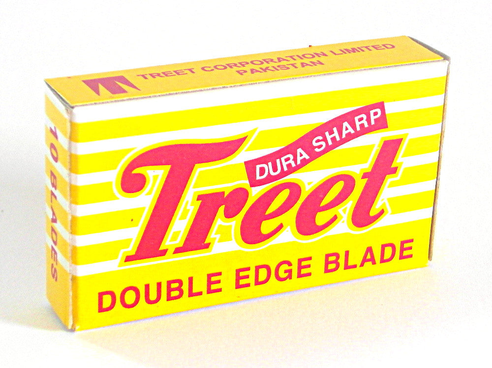 Treet Dura Sharp Double Edge Razor Blades - Pack of 10