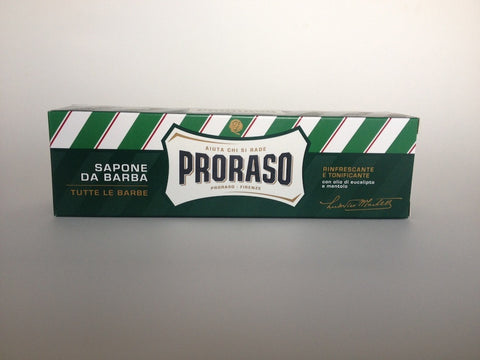 Proraso Shaving Cream Tube - Refreshing and Toning (Green)