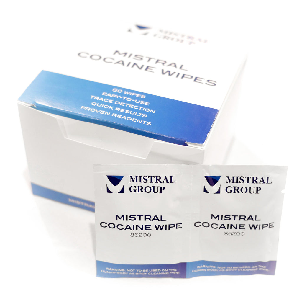 Cocaine Wipes from Mistral Security - Now Available