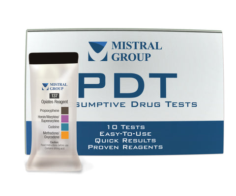 Opiates Reagent - PDT (Box of 10)
